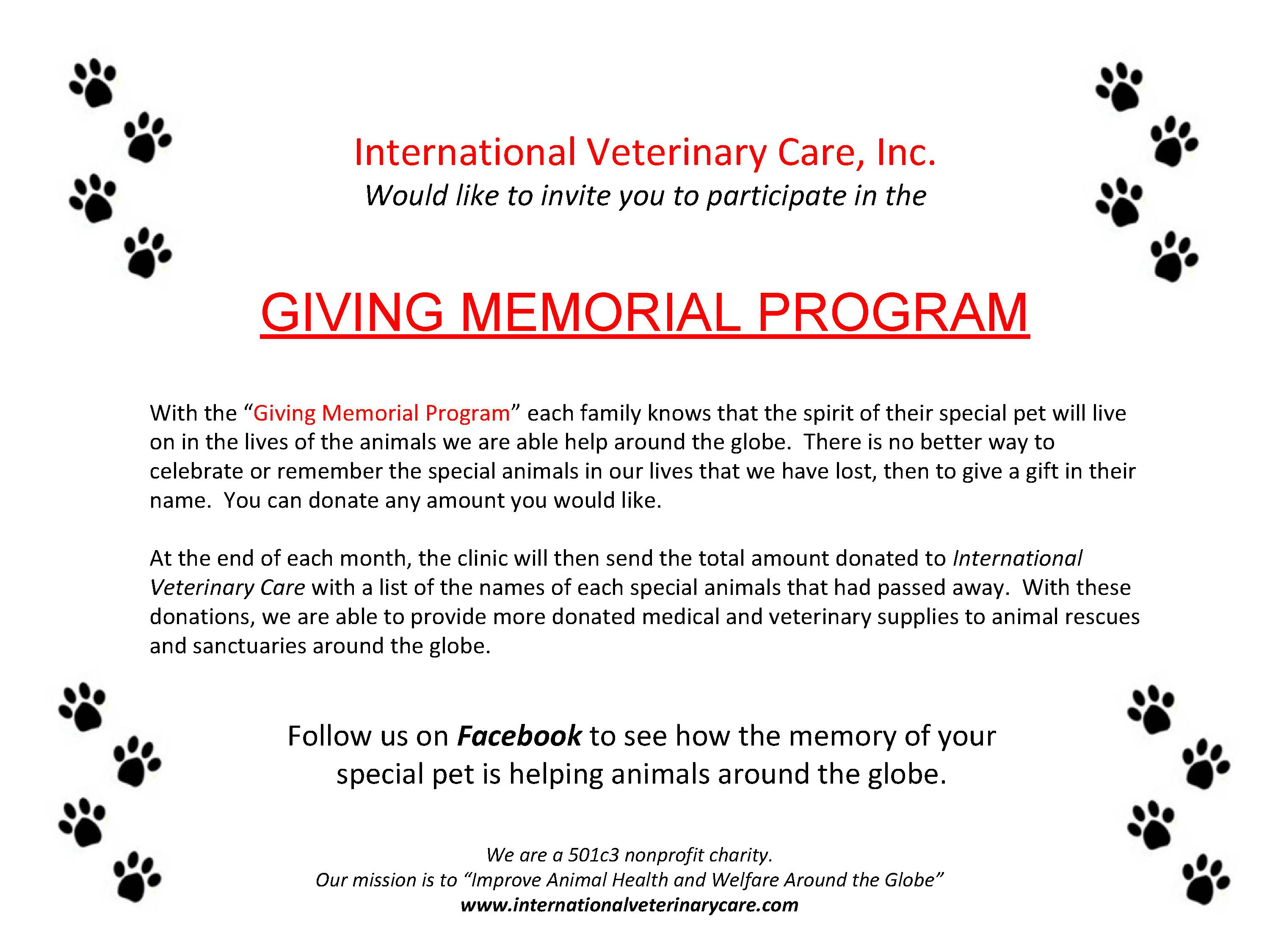 givingmemorialprogram
